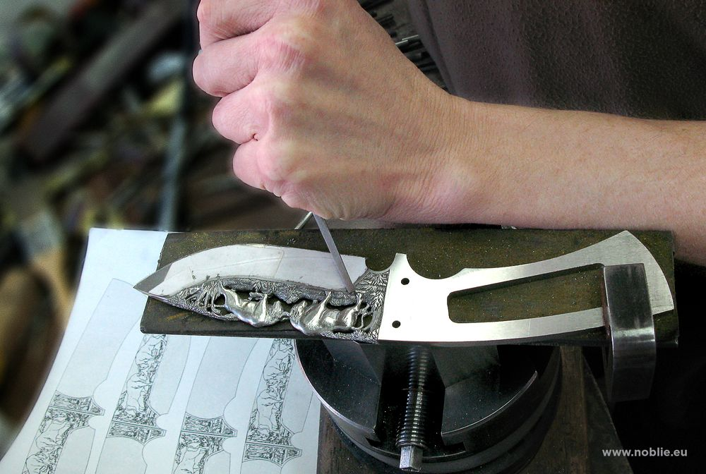 handmade custom knife making