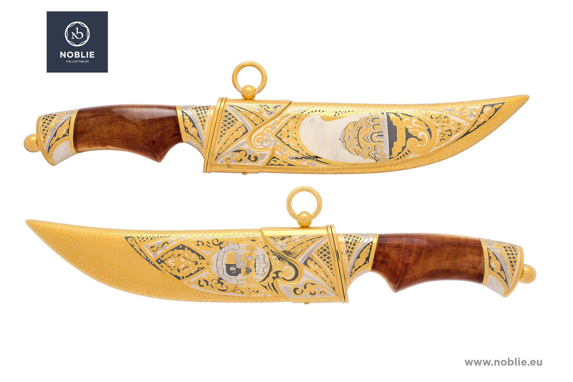 """handmade hunting knife """"Sofia"""""""