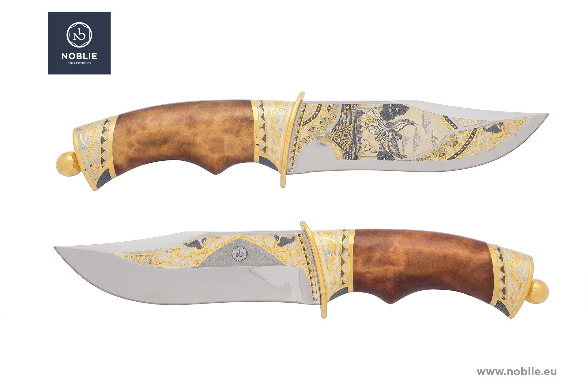"Collectible knife ""Love devotion"""