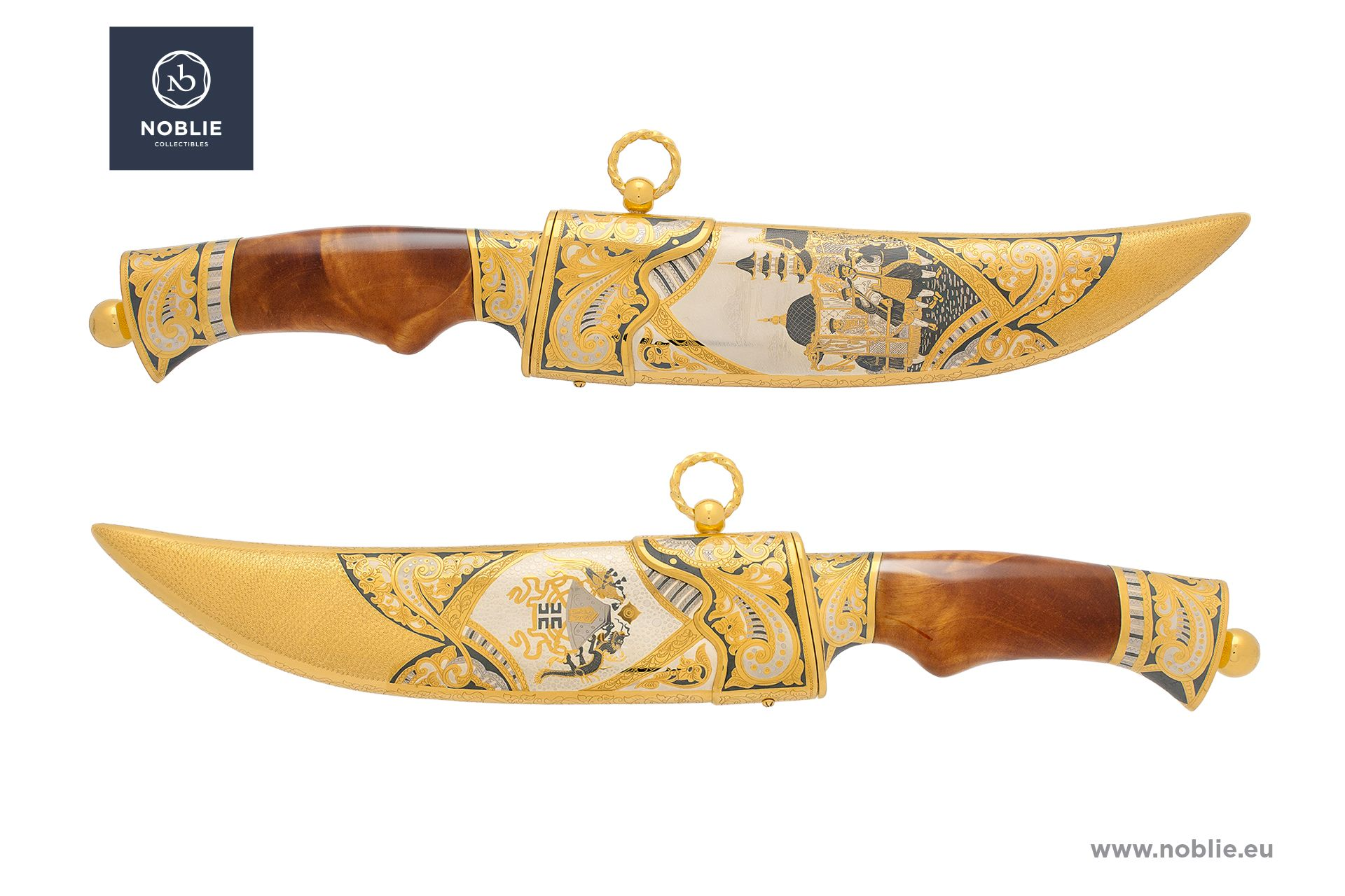 "damascus blade ""Chinese Empire"""