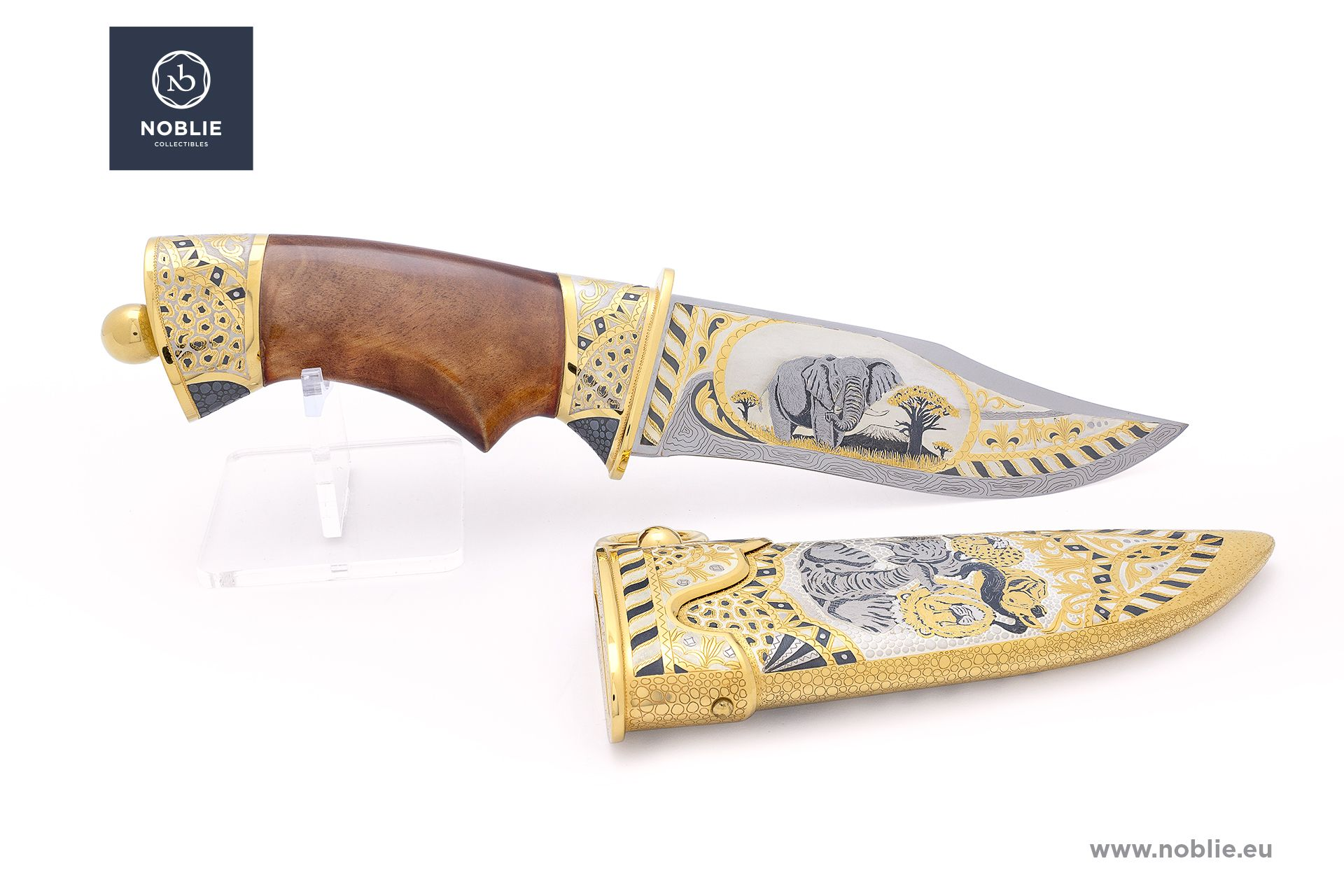 "collectible blade ""African Great five. The elephant"""