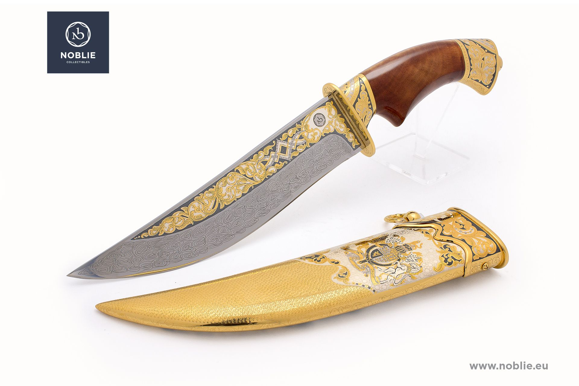 "handmade hunting knife ""British Empire"""