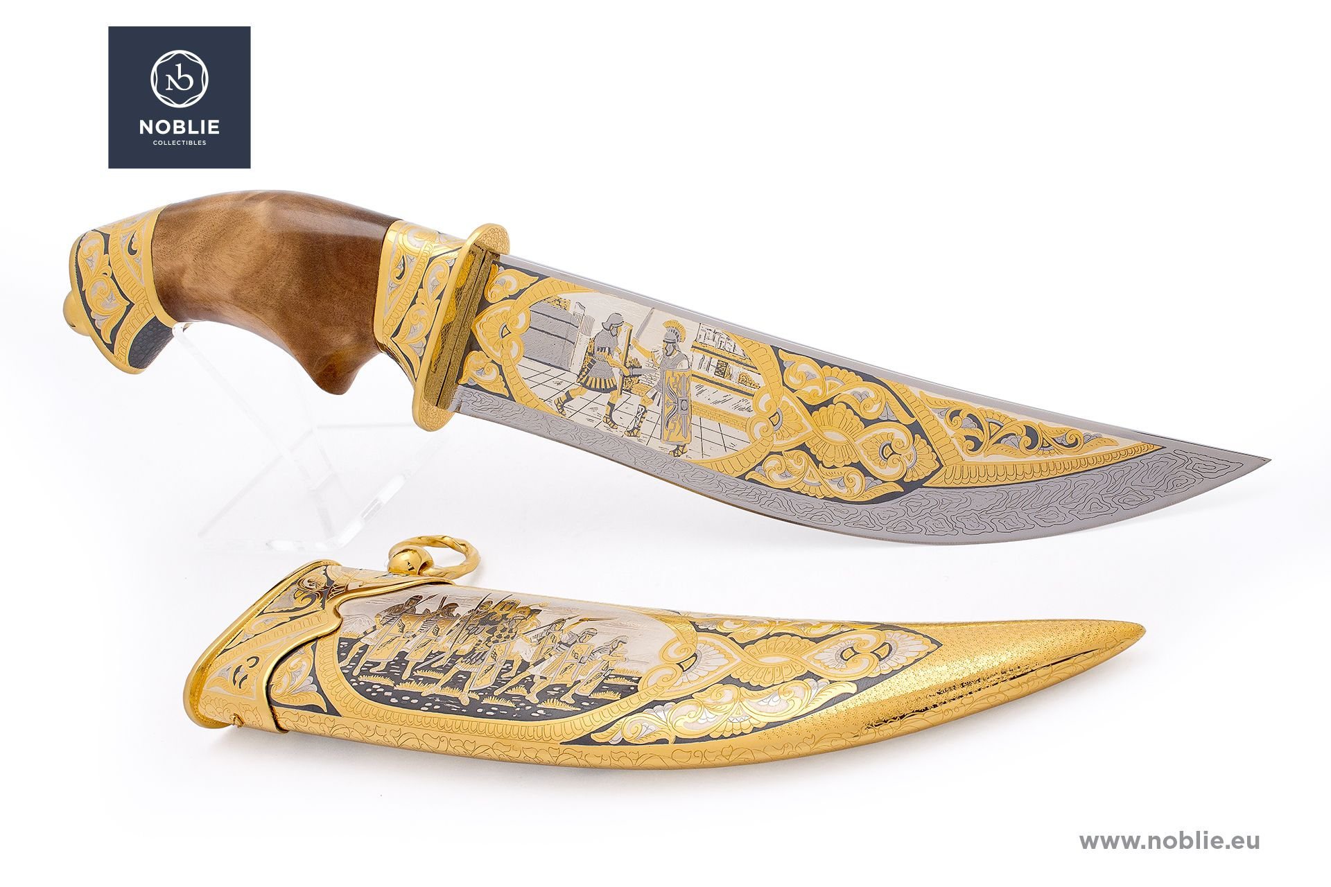 "Custom hunting knife ""Roman Empire"""