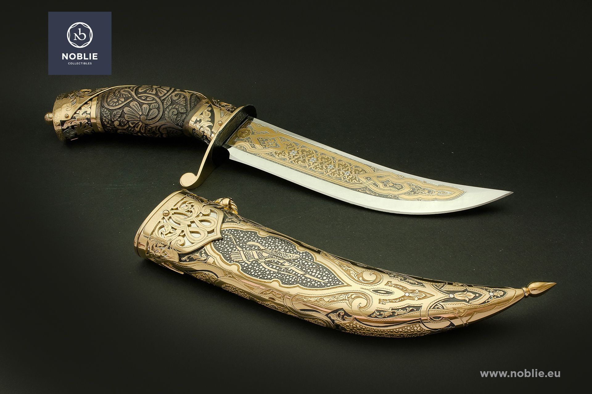 "damascus blade ""The soul of hunter"""