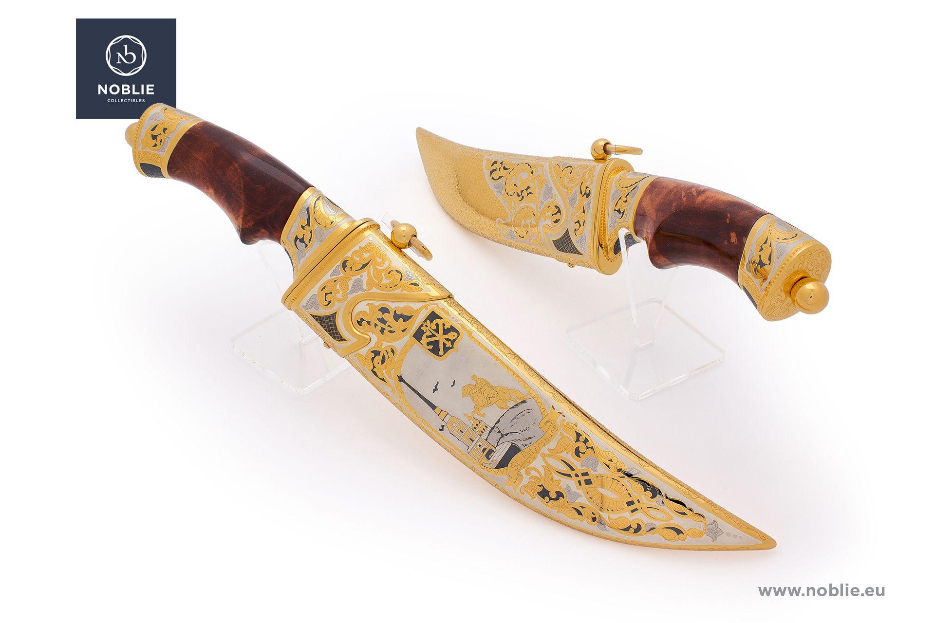 "damascus blade ""Saint Petersburg"""