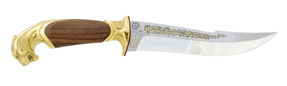 "collectible hunting knife ""Raw strength. The Jaguar"""