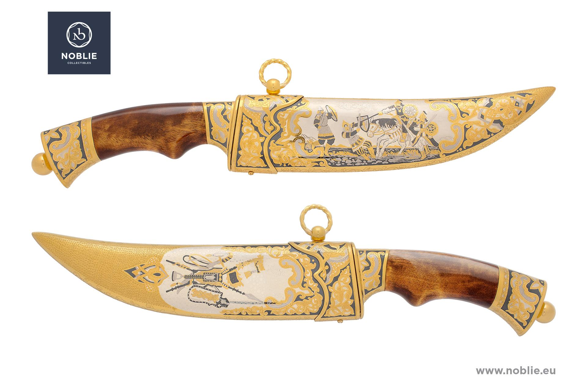 "collectible hunting knife ""Mongolian Empire"""