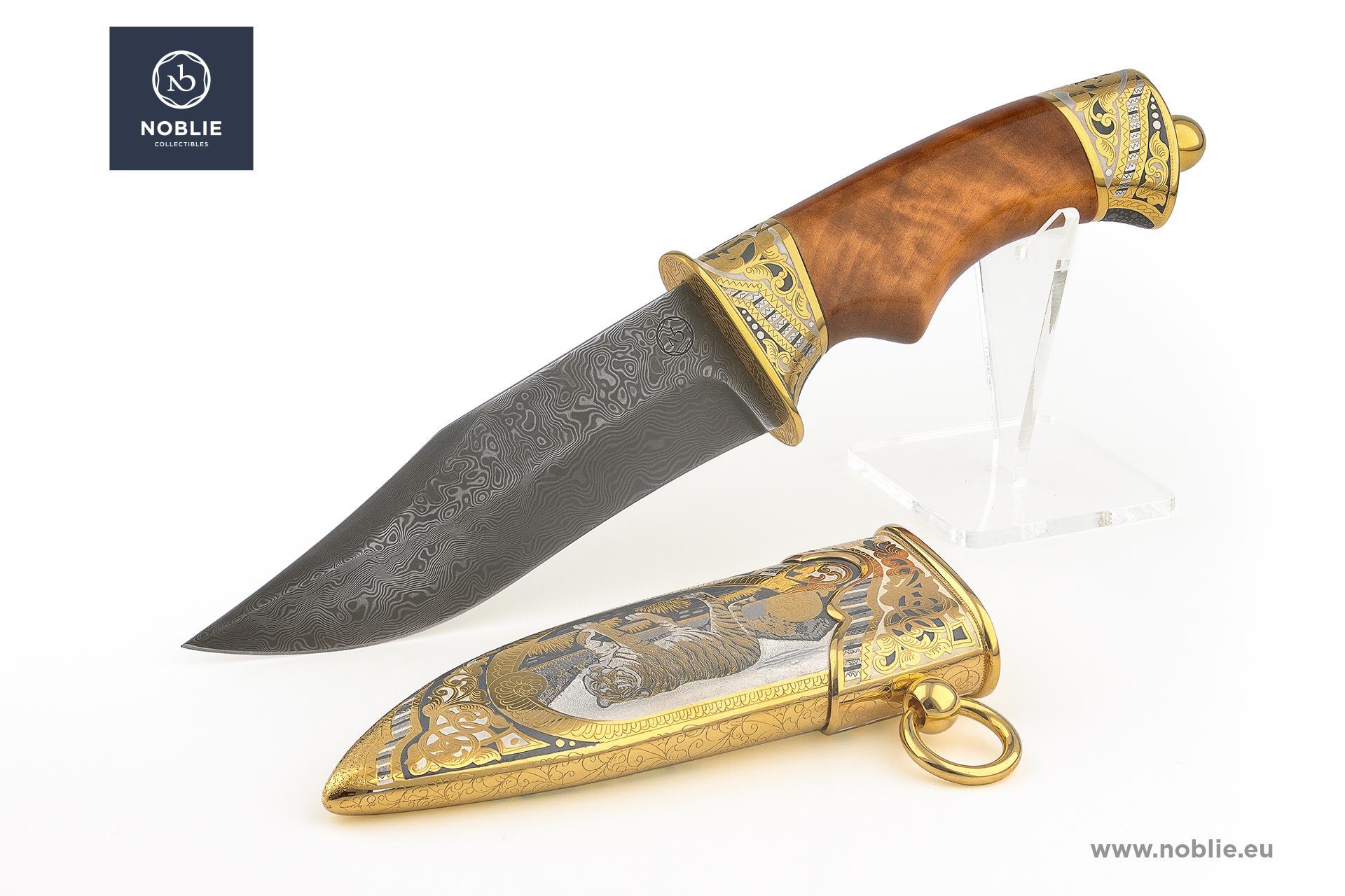 "collectible blade ""The tiger"""