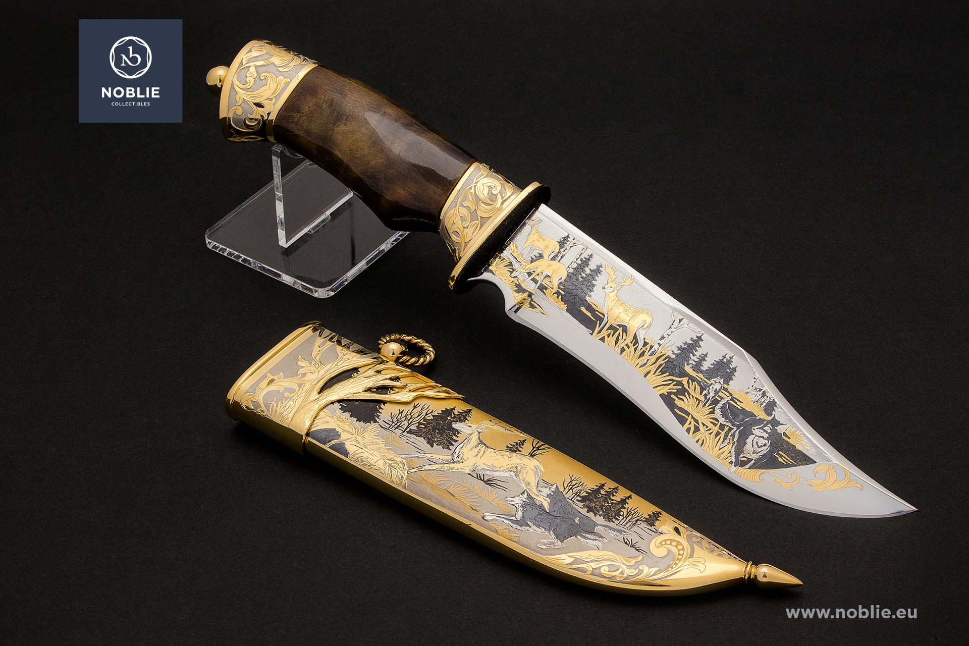 "collectible blade ""Forest hunters"""