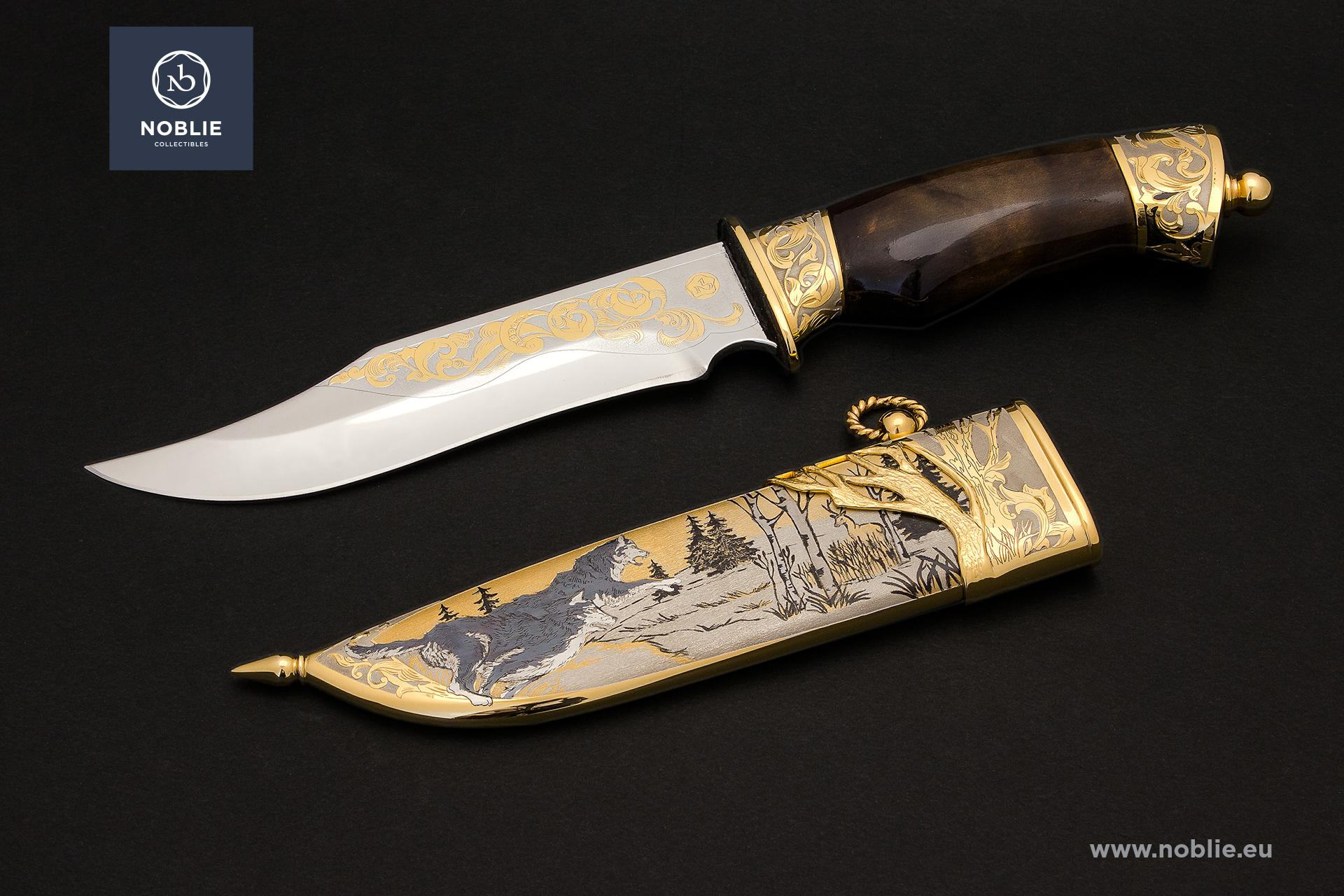 "collectible knife ""Forest hunters"""