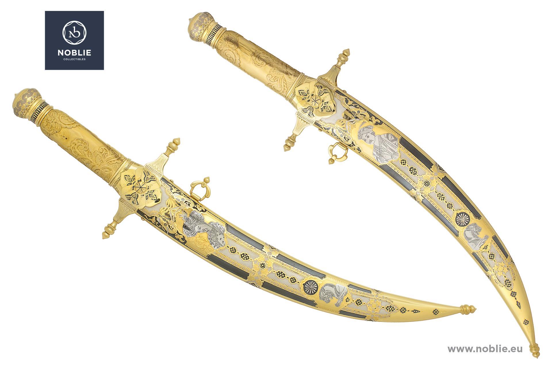 "custom dagger ""The great moghuls"""