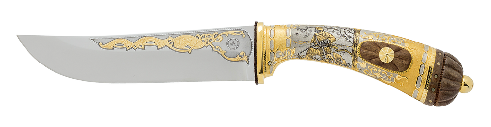 "collectible blade ""Tough rival. The wild boar"""