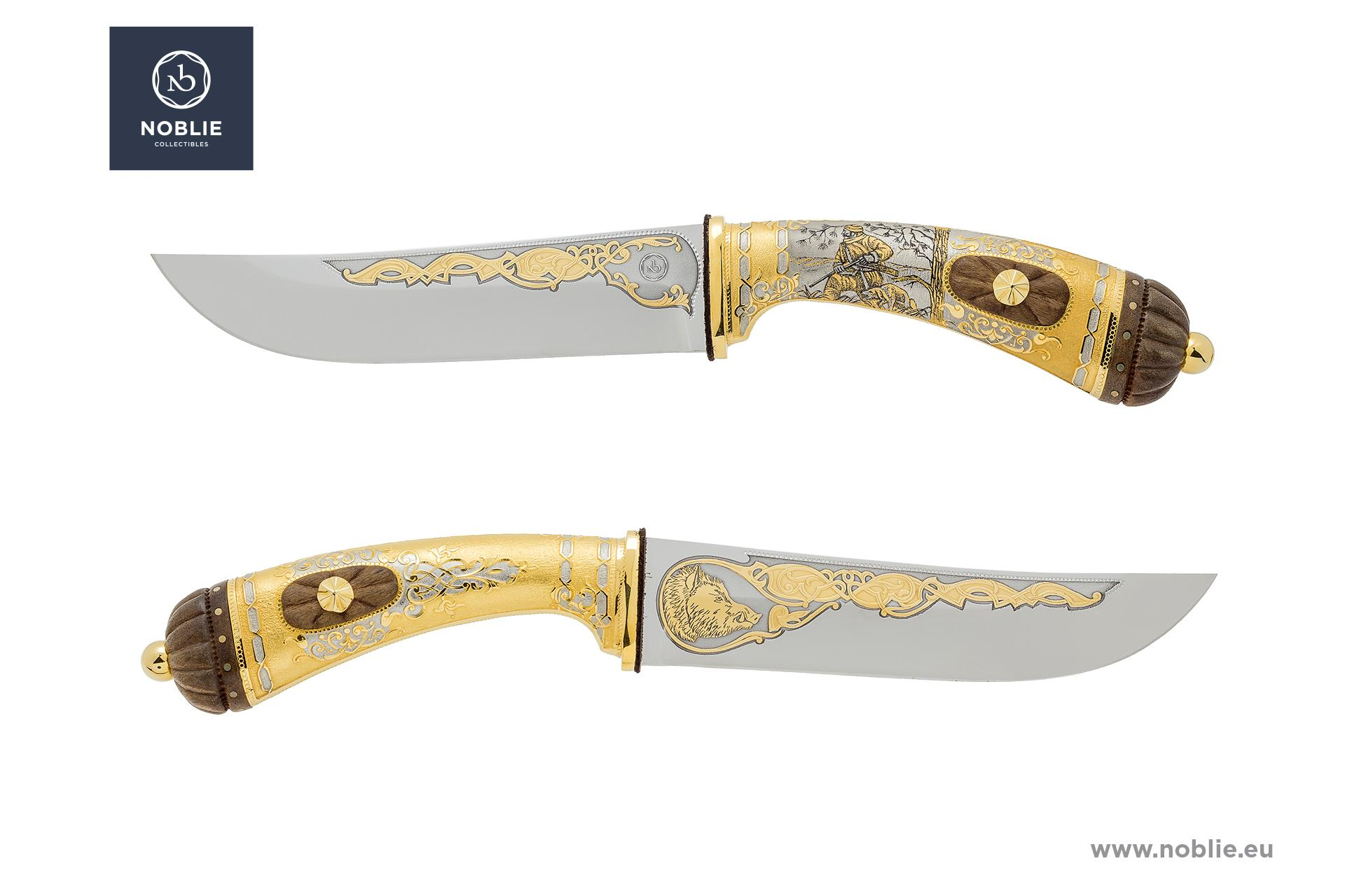 "collectible knife ""Tough rival. The wild boar"""