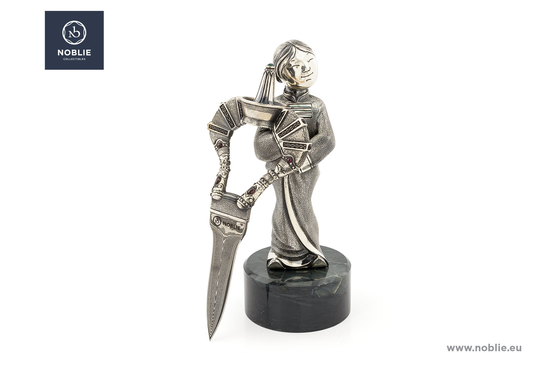handmade knife sculpture