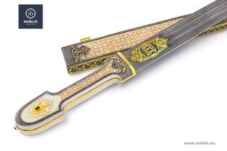 """Caucasian dagger """"KKB"""" in the collection of edged weapons NOBLIE"""