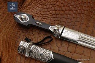 Caucasian Daggers (Russian Cossack Kindjal, Qama)