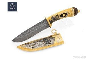 Luxury gift for men – handmade collection knife