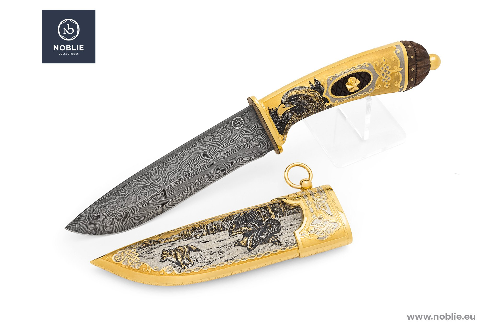 "hunting knife ""Aquila chrysaetos. Eagle"""