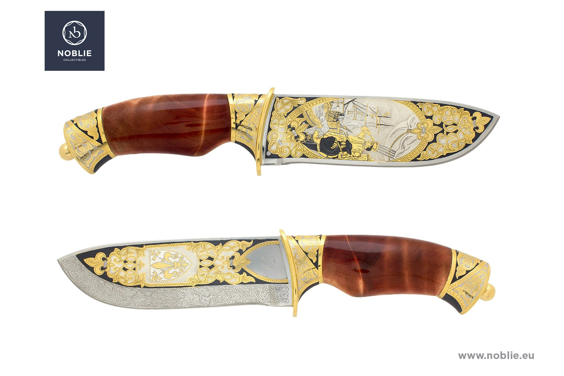 art knife ''Amerigo Vespucci''
