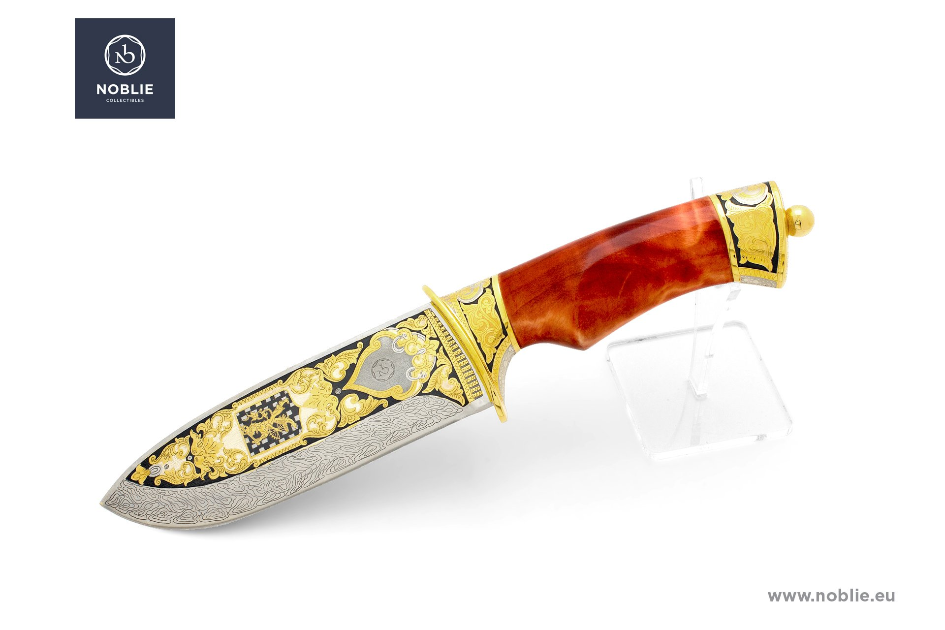 handmade art knife ''Willem Barentsz''