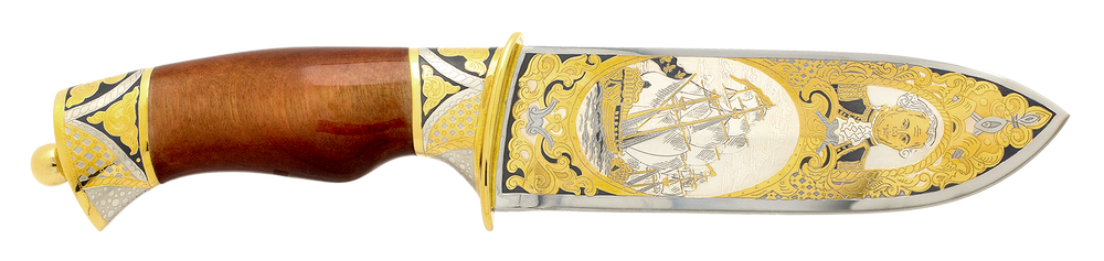collectible blade ''Jean-François de Galaup, comte de Lapérouse''