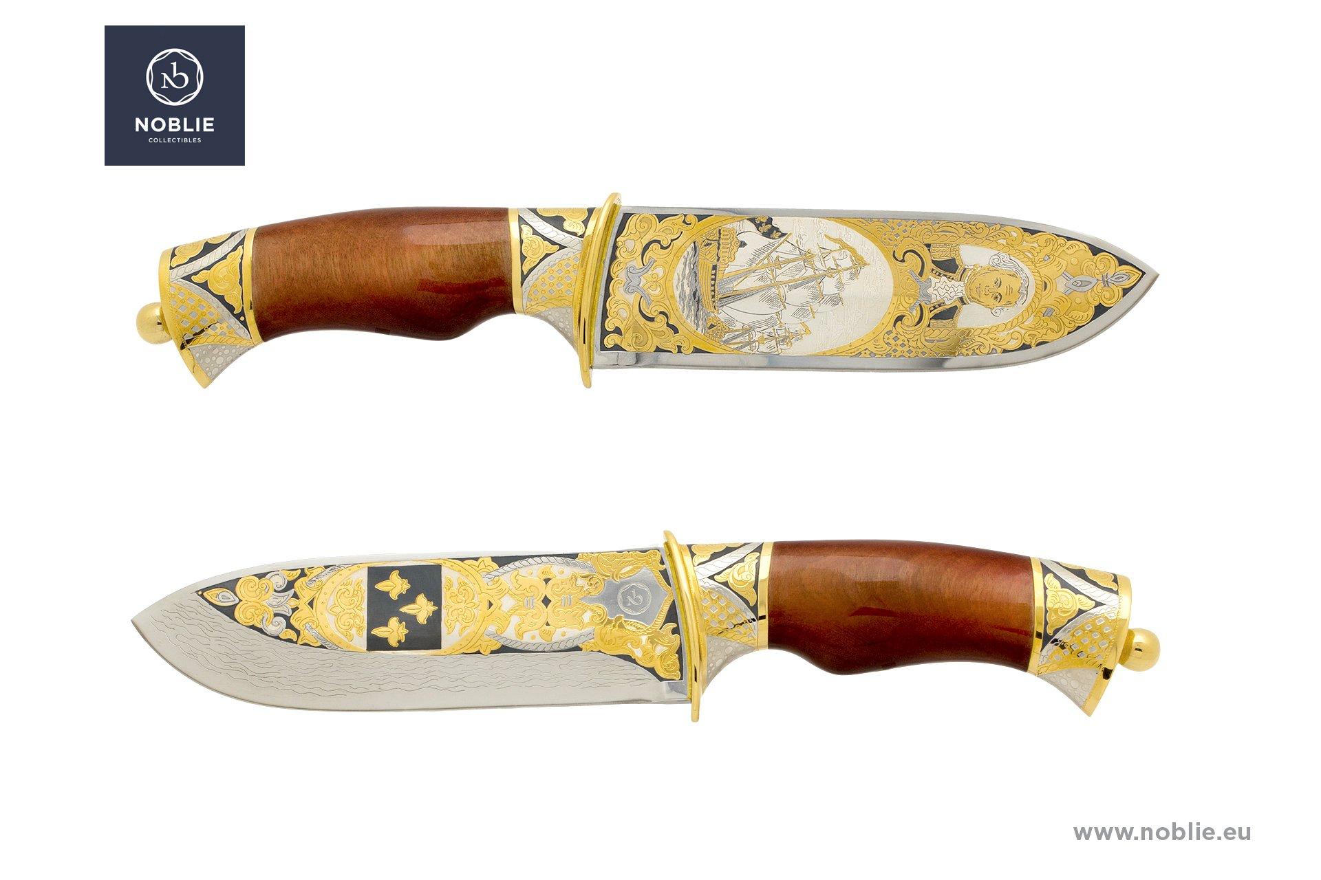 collectible knife ''Jean-François de Galaup, comte de Lapérouse''