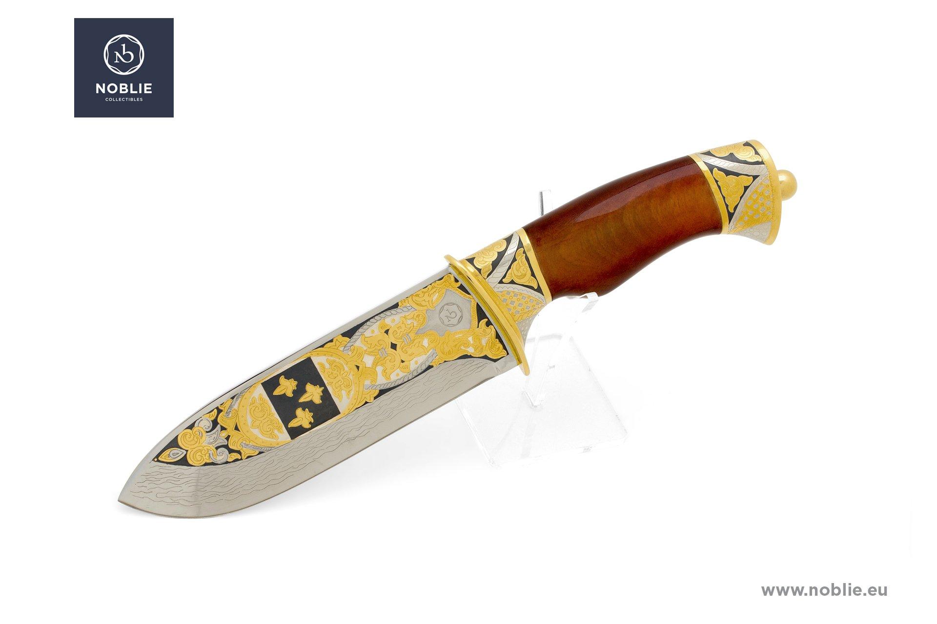 handmade knife ''Jean-François de Galaup, comte de Lapérouse''