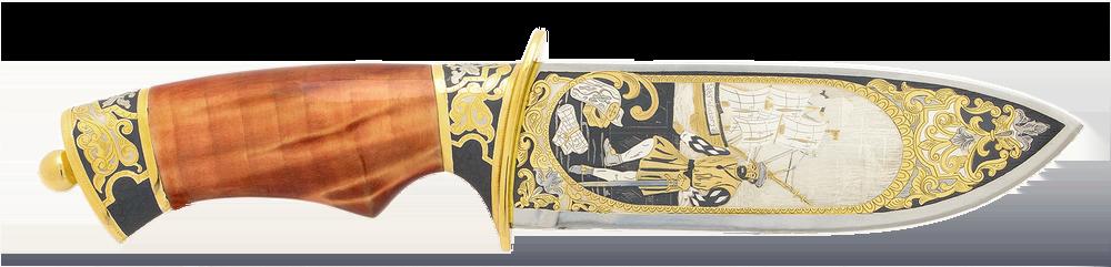 custom knife ''Ferdinand Magellan''