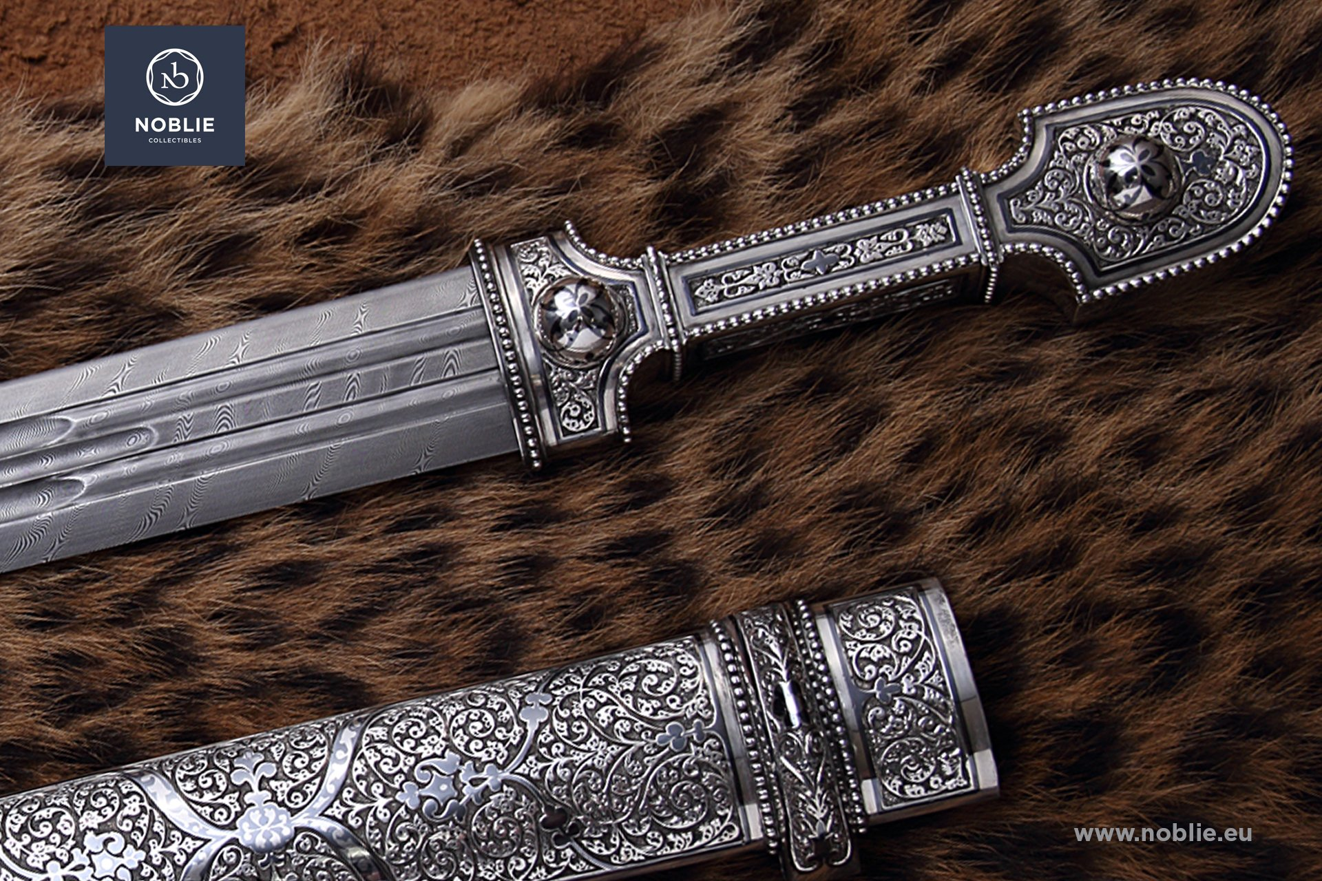 collectible dagger ''Silver qama''