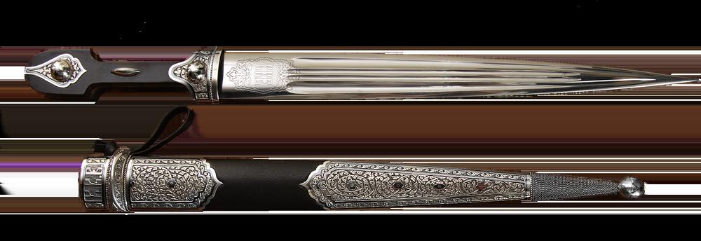 engraving dagger ''Kindjal K.K.V.''