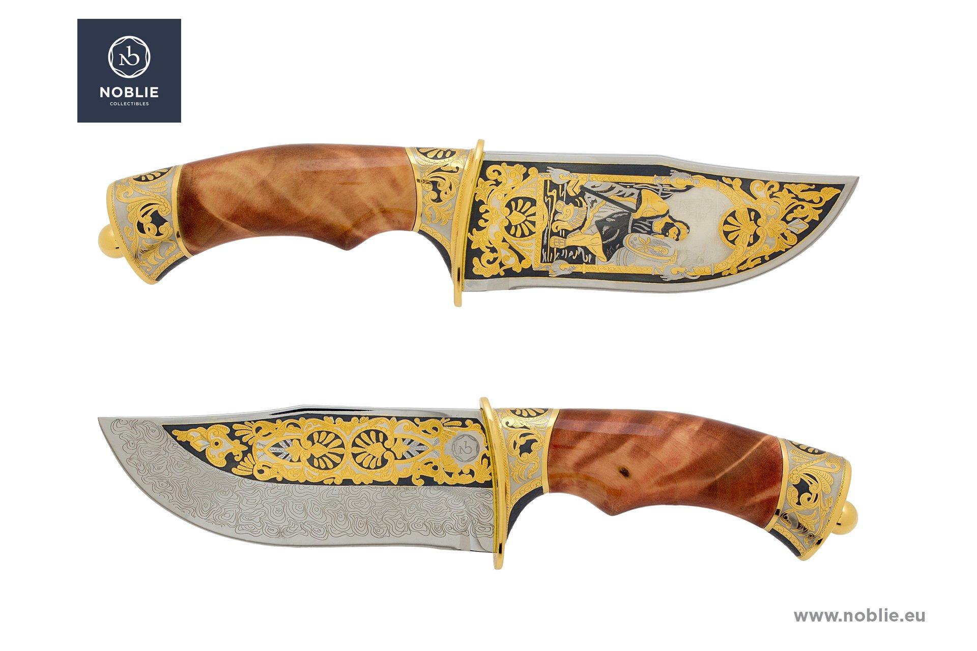 """handmade custom knife """"Hephaestus"""""""