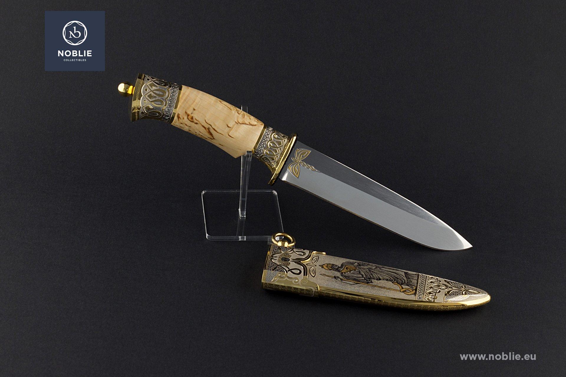 """handmade art knife """"Athena"""""""