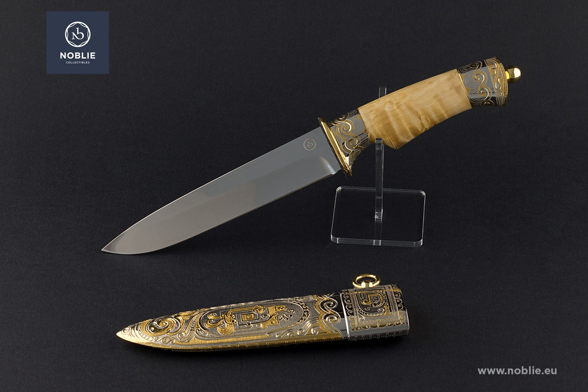 "handmade custom knife ""Aphrodite"""