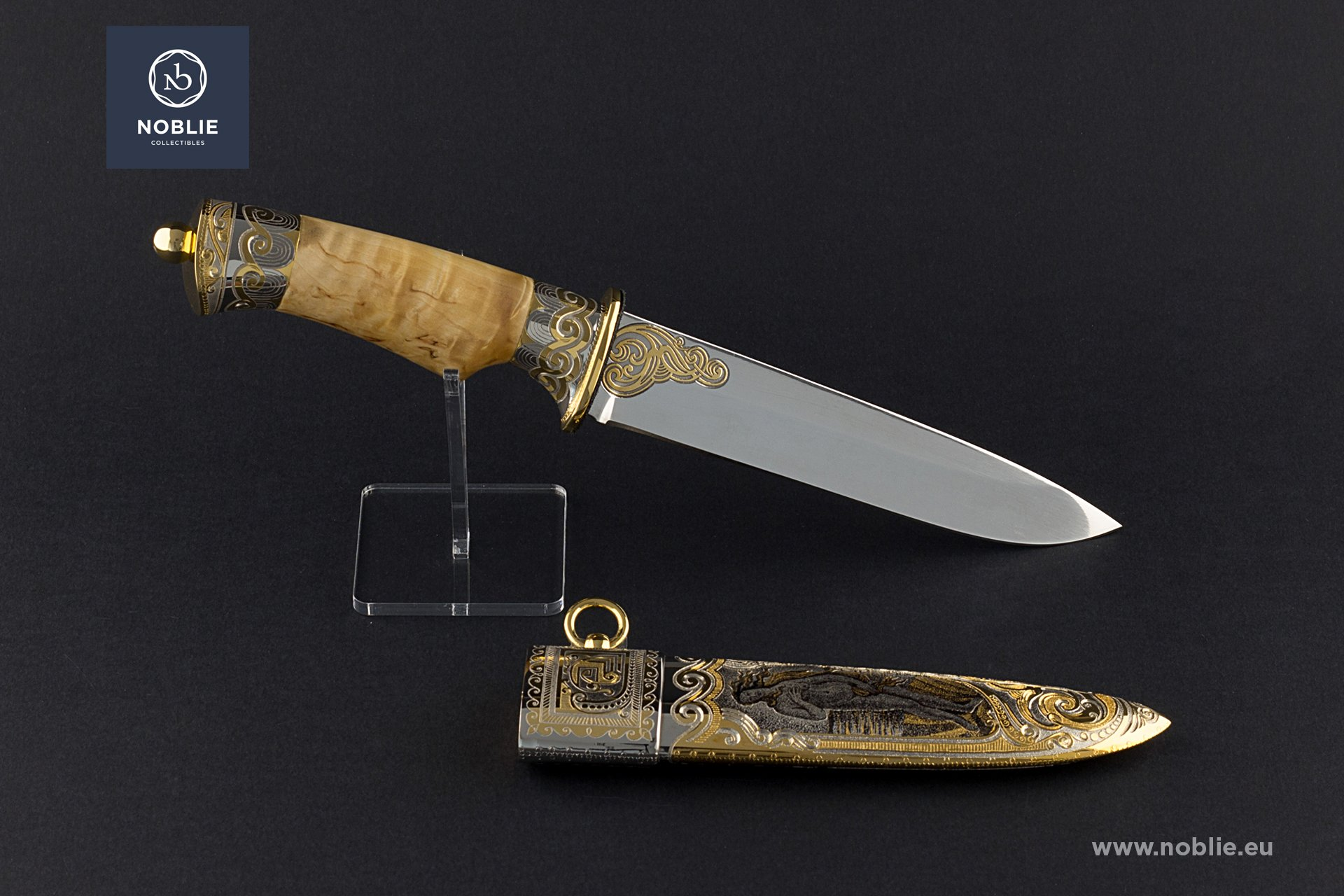 "custom knife ""Aphrodite"""