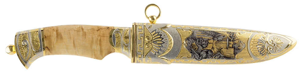 "collectible blade ""Hephaestus"""