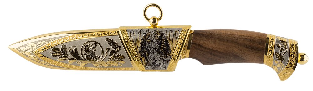 """Collectible knife """"Spaniel"""""""