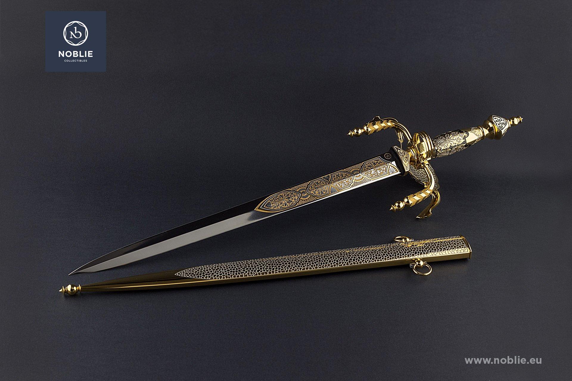 "engraved Dagger ""Conquistador"""