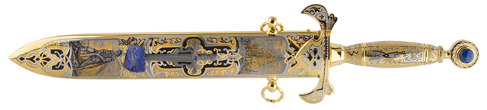 "collectible Dagger ""Legend of excalibur. King Artur"""