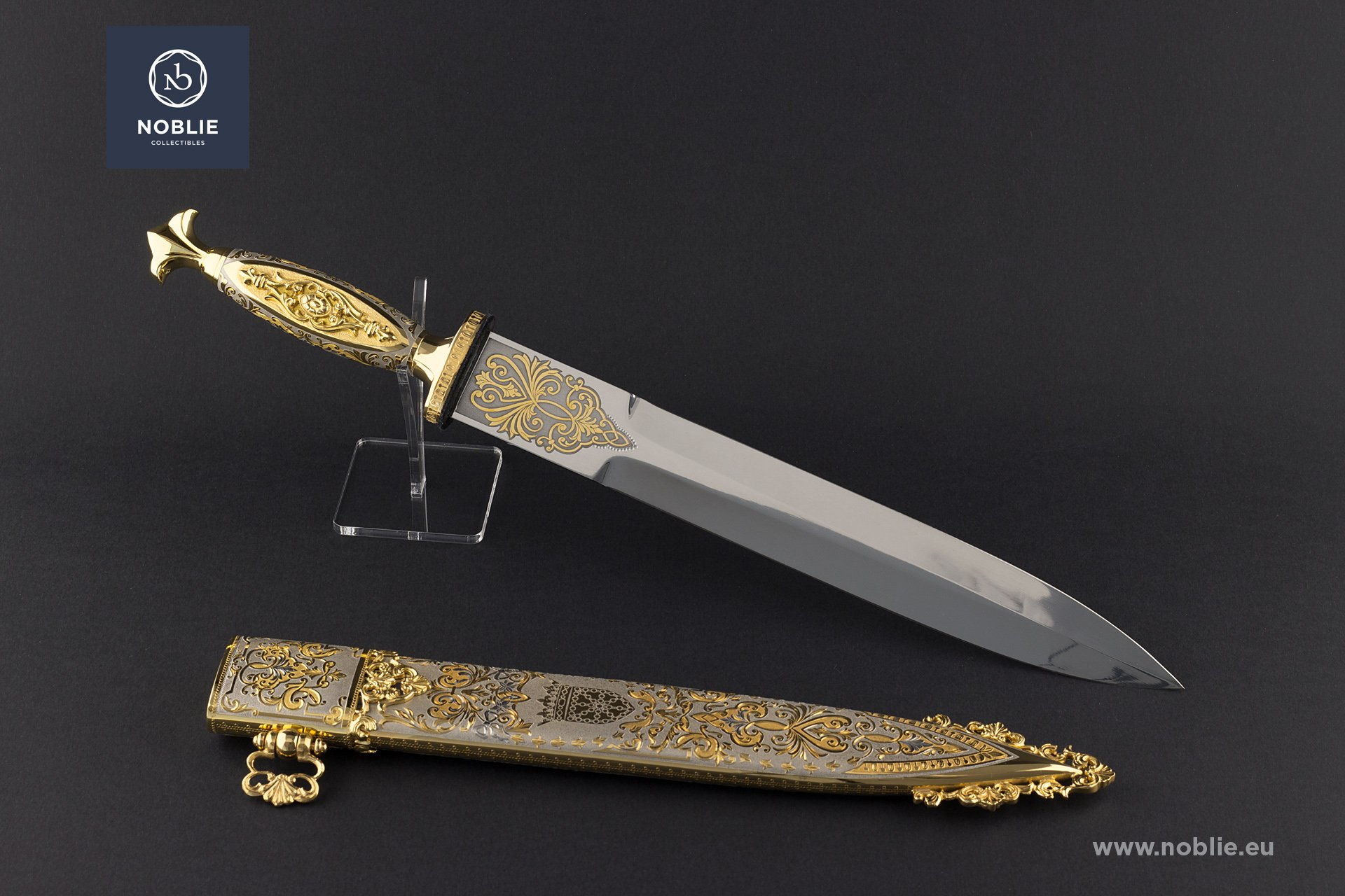 "collectible Dagger ""The sun king. Louis XIV"