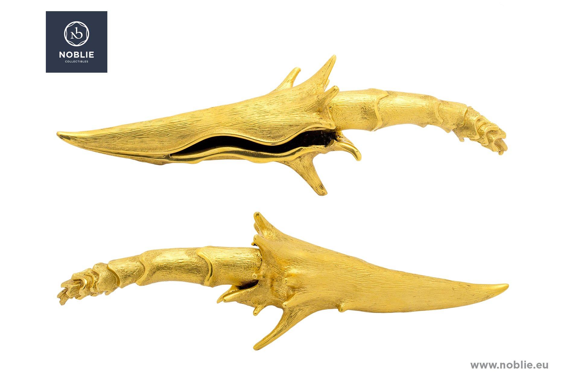 """knife """"Golden shellfish"""""""