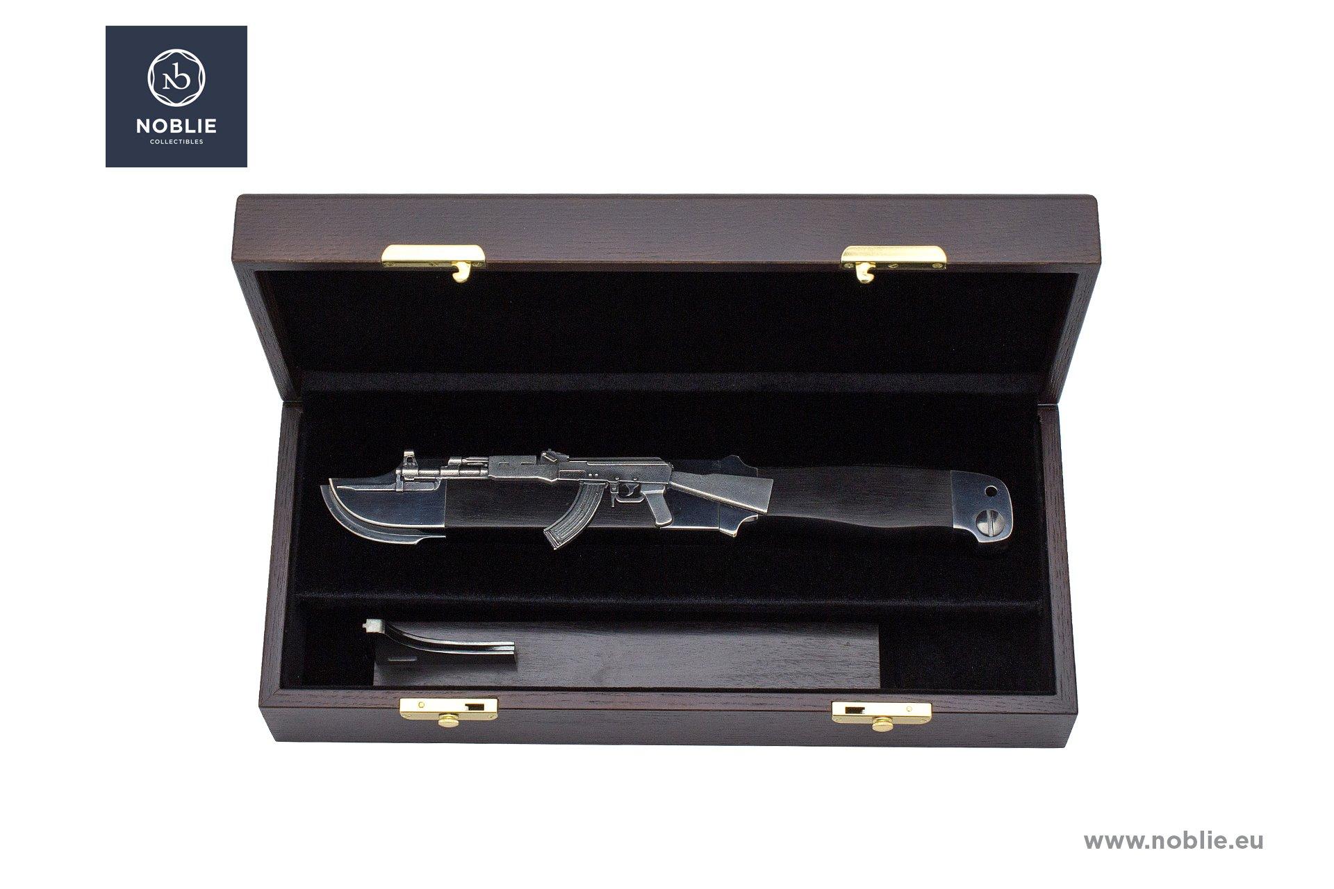 """handmade art knife composition """"AK 47"""""""