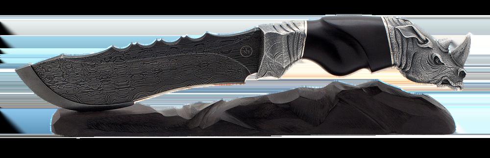 """damascus blade """"Rhino"""""""
