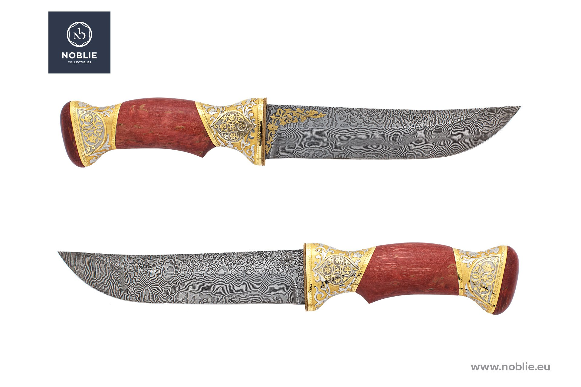 "engraved knife ""Eastern ornaments"""