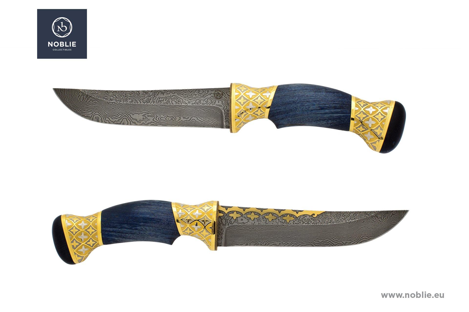 "handmade custom knife ""Gothic ornaments"""