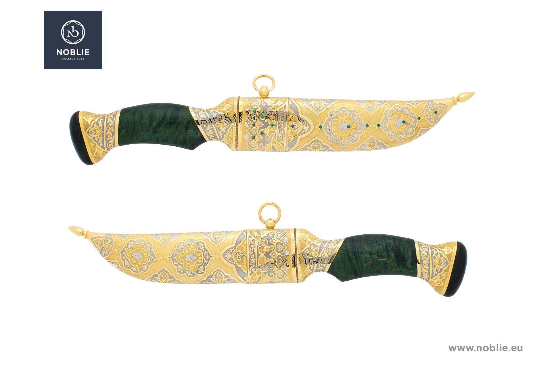 "hunting knife ""Persian ornaments"""