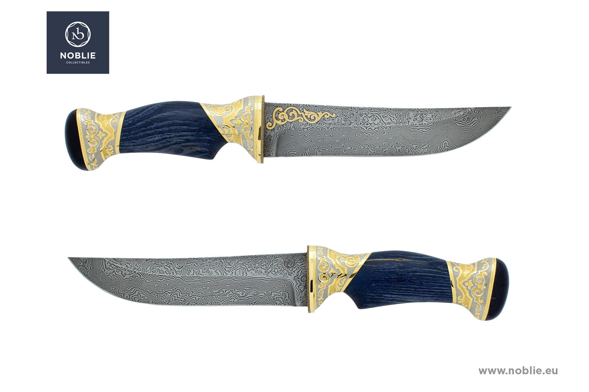 "handmade art knife ""Mystical ornaments"""