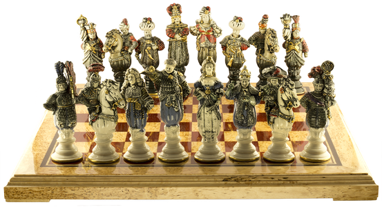 "Chess set ""The battle of Vienna"""