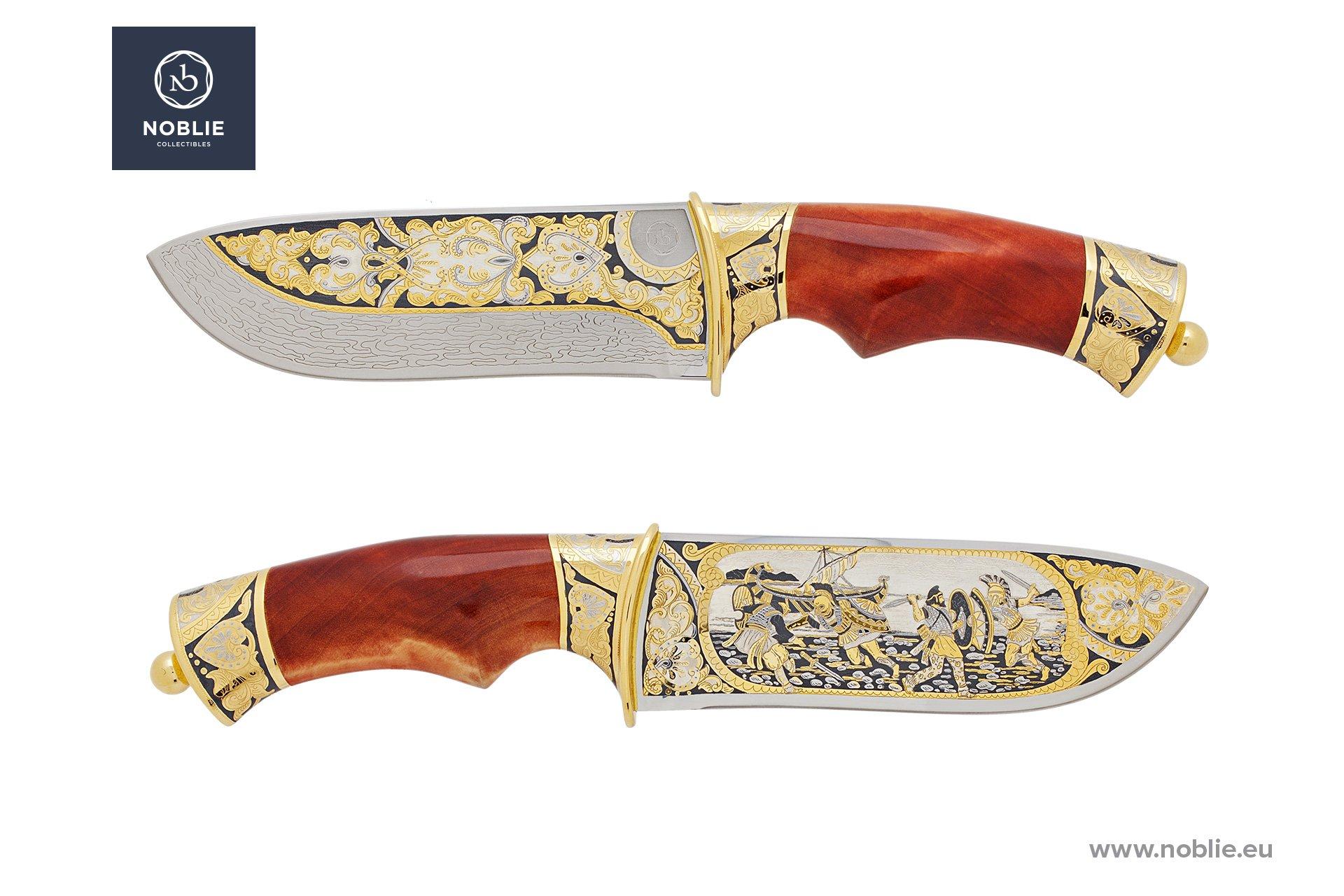 "custom knife ""Battle of Marathon"""