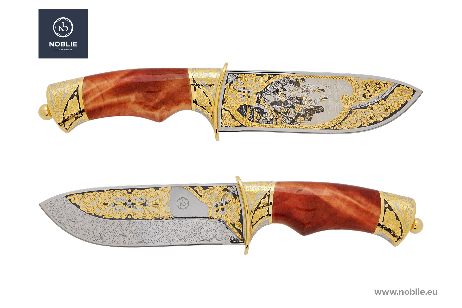 "handmade art knife ""Battle of Austerlitz"""