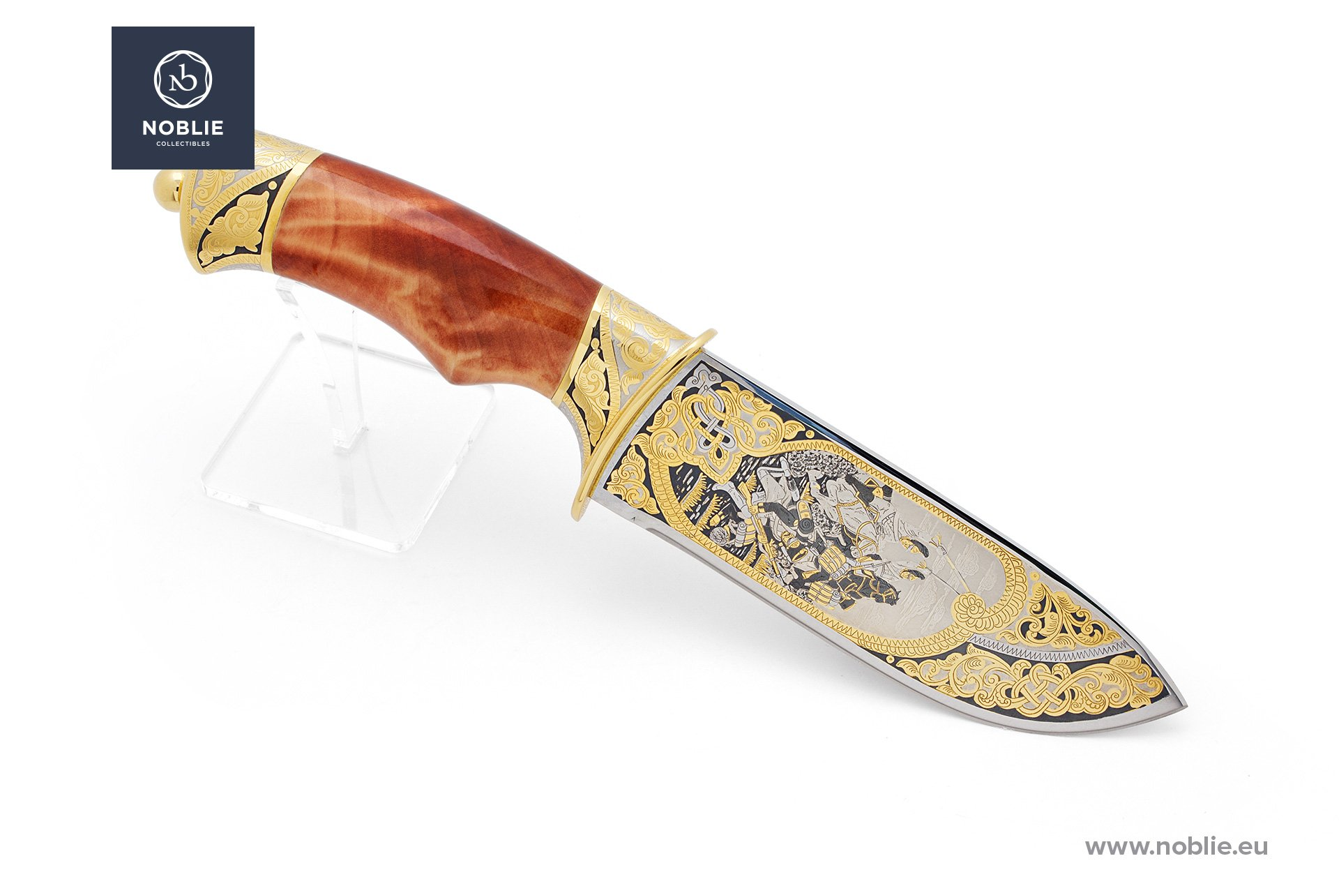 "handmade custom knife ""Battle of Austerlitz"""